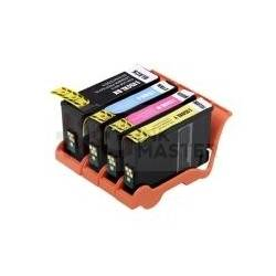 4 Pack Lexmark No.150XL Compatible Ink High Yield Cartridge [1BK,1C,1M,1Y]