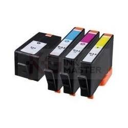 4 Pack Compatible HP 934XL 935XL Ink Cartridge Set (1BK,1C,1M,1Y)