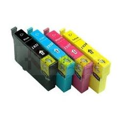 4 Pack Compatible Epson T1931,32,33,34 Ink Cartridge Set (1B,1C,1M,1Y) High Yield