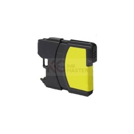 Compatible Brother LC-38 Yellow Ink Cartridge
