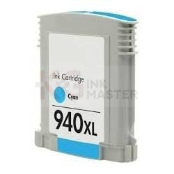 HP 940XL Compatible Cyan High Yield Inkjet Cartridge C4907AA - 1,400 Pages