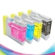 4 Pack Compatible Brother LC-37 Ink Cartridge Set (1BK,1C,1M.1Y)