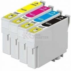 4 Pack Compatible Epson 138 T1381 T1382 T1383 T1384 Ink Cartridge Set (1B,1C,1M,1Y) High Yield
