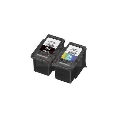 Canon PG-88 + CL-98 Compatible Inkjet Cartridges