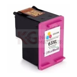 HP 63XL Compatible [Tri Colour Pack] High Yield Inkjet Cartridge F6U63AA - 330 Pages